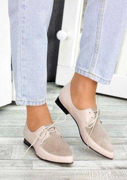 Туфли лодочки бежевые
