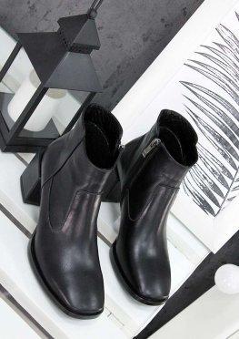 Ботинки черная кожа Brandi