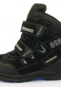 Детская зимняя обувь термо-ботинки B&G:ZTE17-106