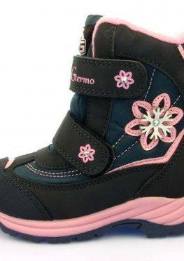 Термо ботинки для девочки B&G:RAY195-62