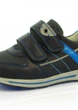 Детские кроссовки Clibee:P-189 тем.Синий+Голубой