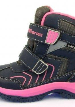 Термо ботинки для девочки B&G:HL197-920