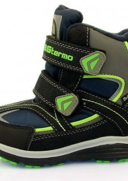 Термо ботинки для мальчика B&G:HL197-911