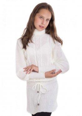 Платье Соты, молочный