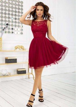 Коктейльное платье миди
