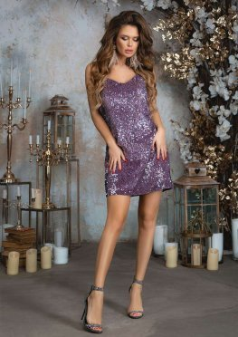 Коктейльное платье пайетки