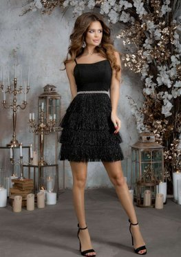 Коктейльное платье бахрома