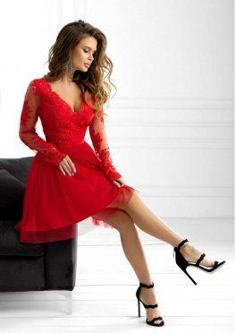 Гипюровое вечернее платье