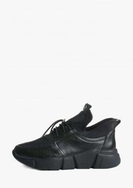 Стильные кроссовки на рельефной подошве со стрейчем