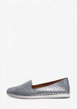 Туфли на низком ходу с перфорацией