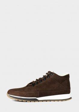Мужские короткие ботинки на зиму