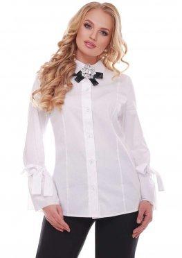 Блуза женская Агата белая