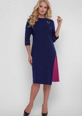 Женское  платье Ванда синее