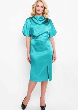 Нарядное платье Элеонора изумруд