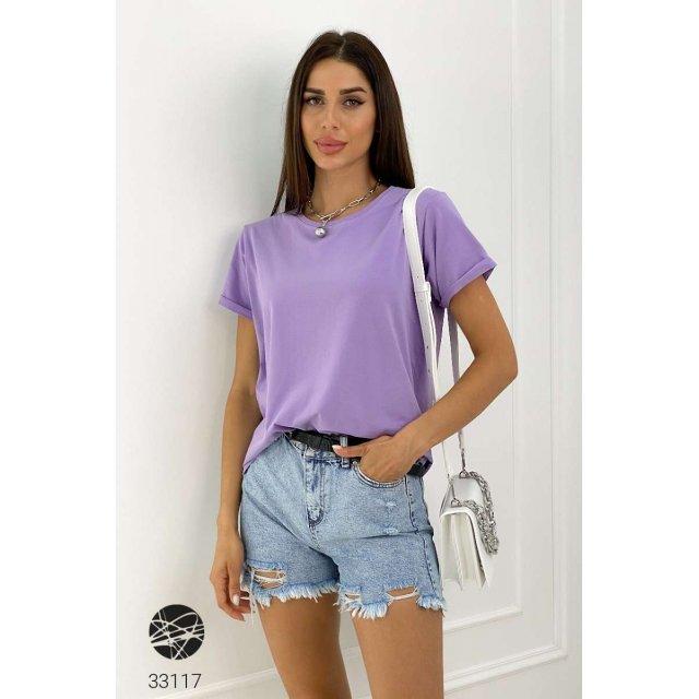 Базовая футболка oversize (33117)