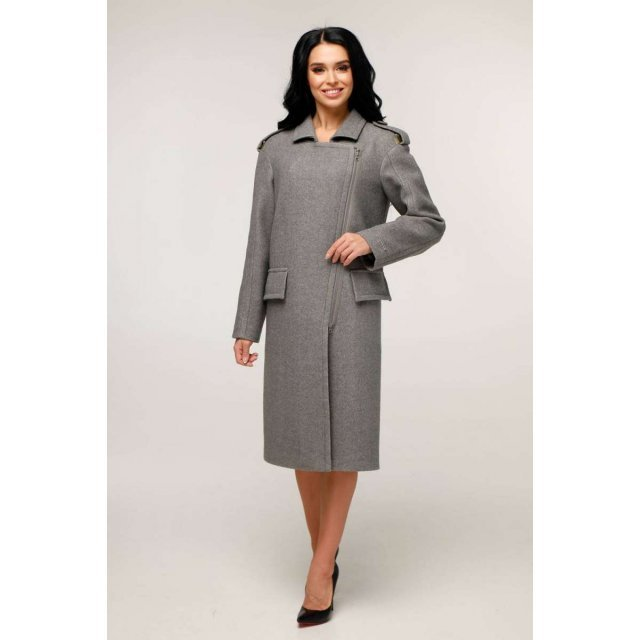 Пальто В-1252 Шерсть пальтовая W7-18145 Тон 25