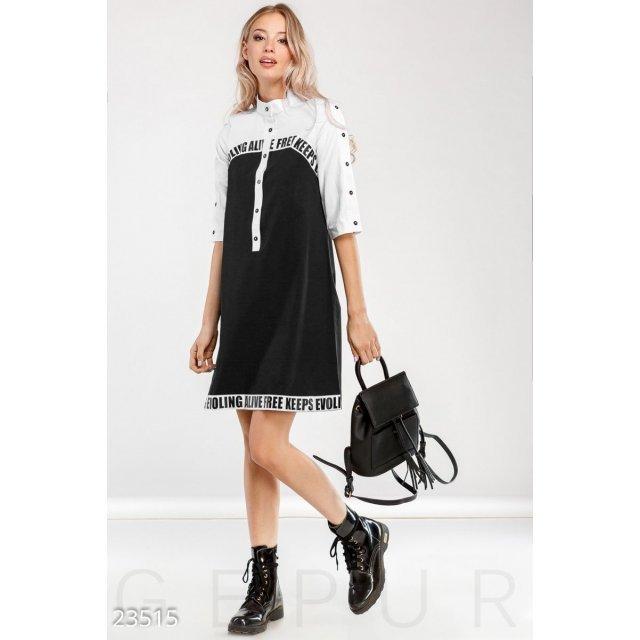 Удобное платье-рубашка