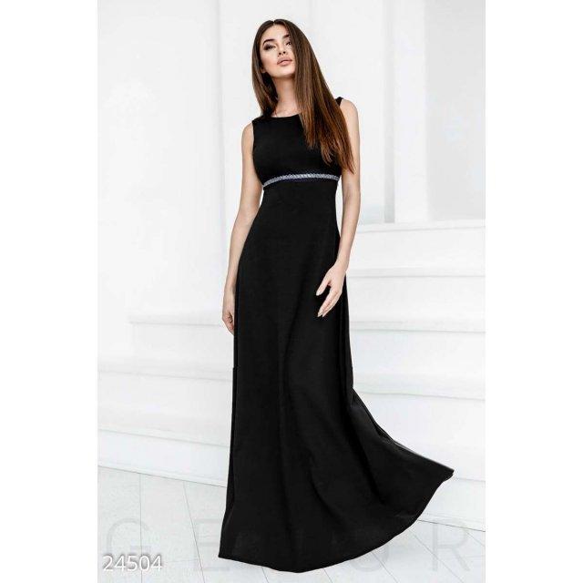 Вечернее платье ампир