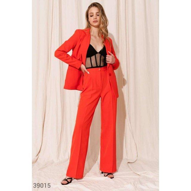 Классический красный костюм (39015)