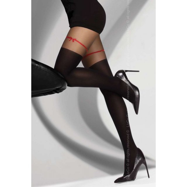 Hreiama 60 den Black Livia Corsetti Fashion
