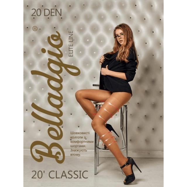 Classic 20 den Belladgio