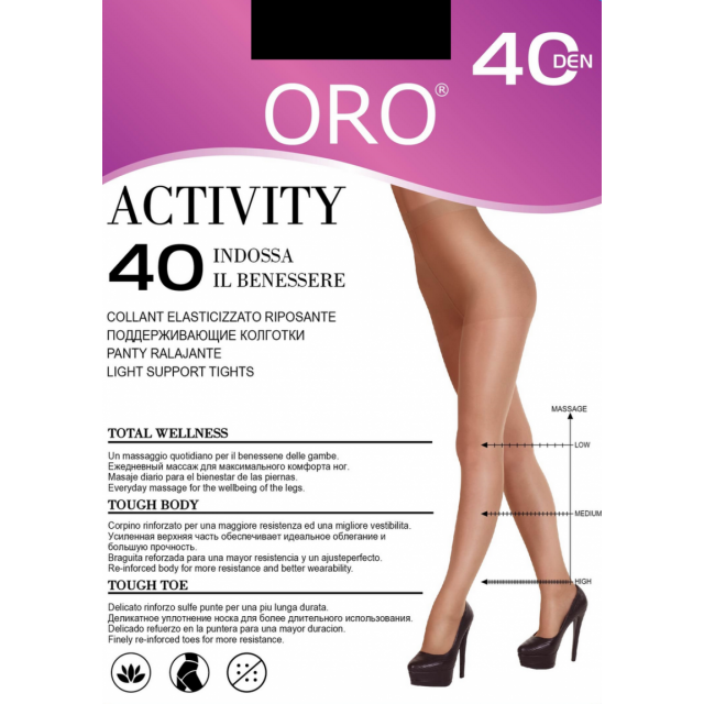 Activity 40 den Oro