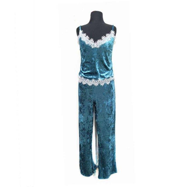 5024 Пижама с штанами velur Serenade