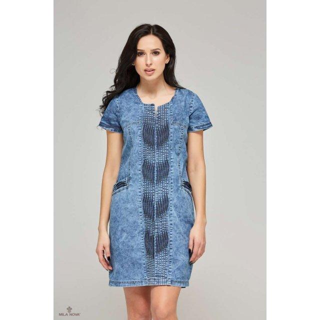Mila Nova Джинсовое платье Ф-56