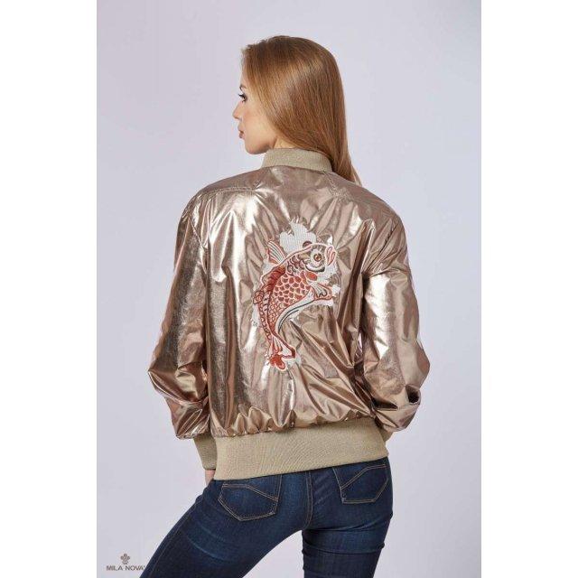 Mila Nova Куртка К-73 Золото