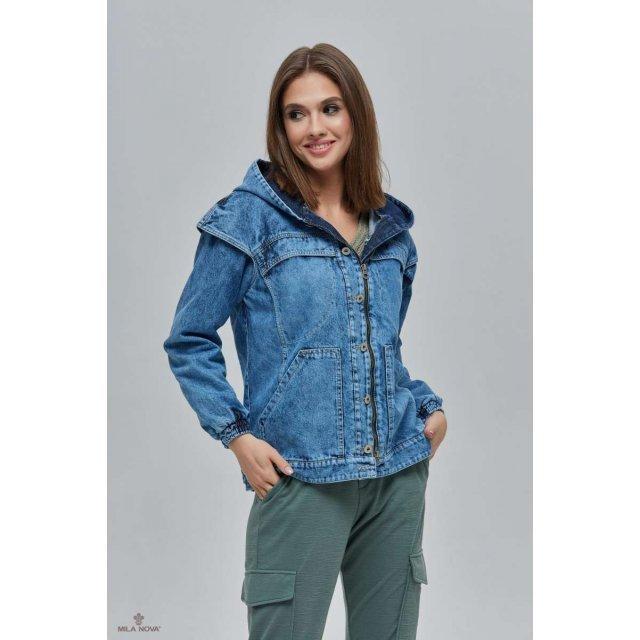 Mila Nova Джинсовая куртка Q-33