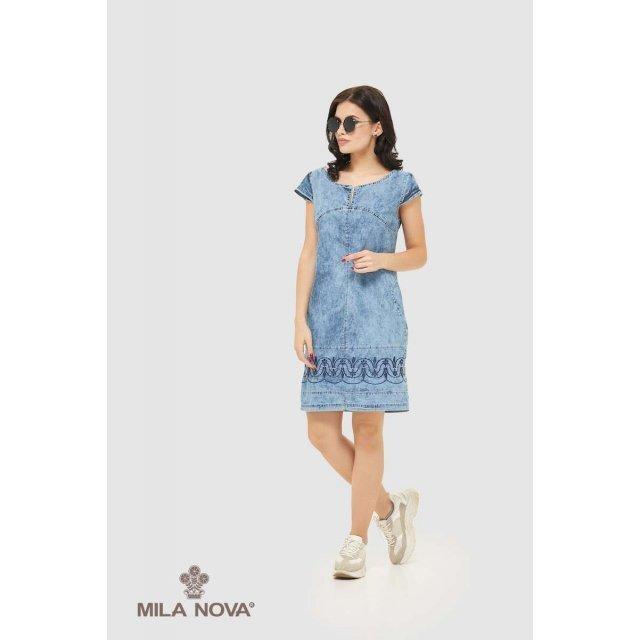 Mila Nova Джинсовое платье Ф-42