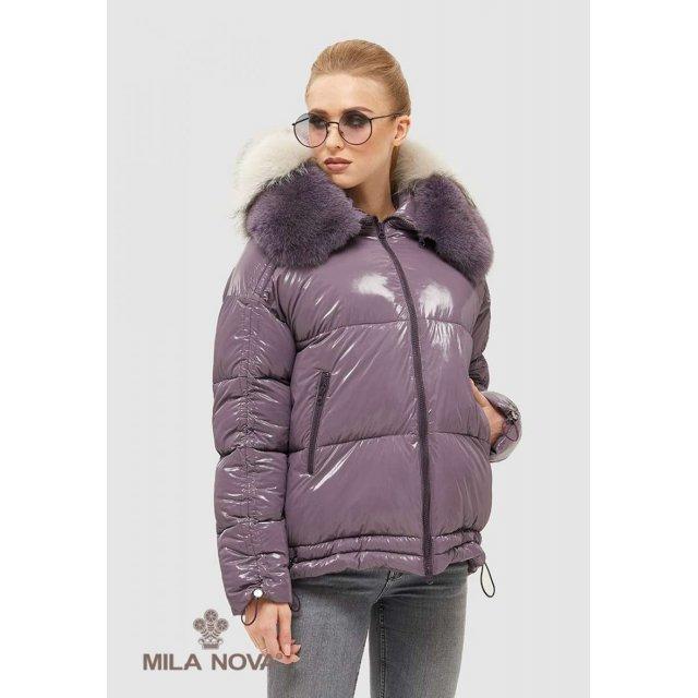 Mila Nova Куртка К-104 Сирень