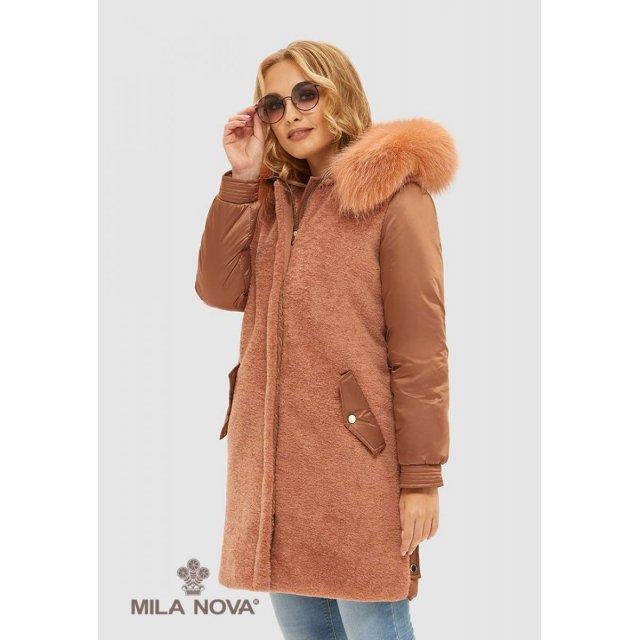 Mila Nova Куртка К-101 Капучино
