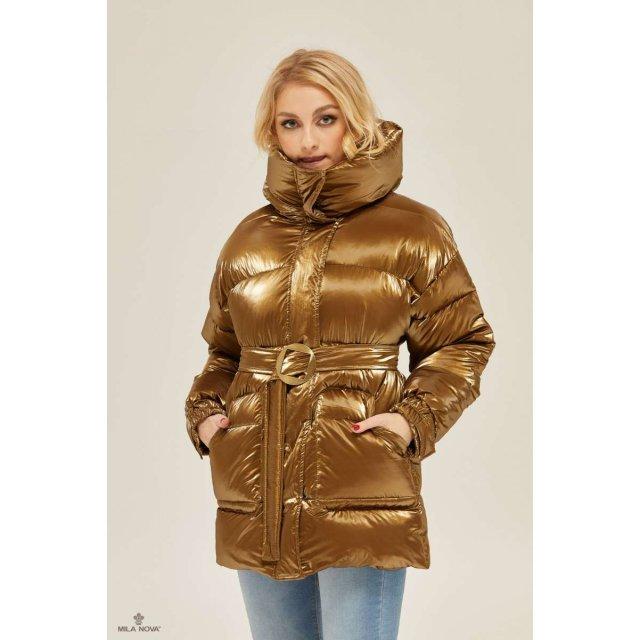 Mila Nova Куртка К-127 Золото