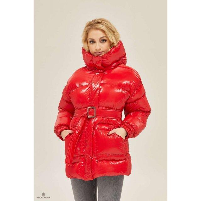 Mila Nova Куртка К-127 Красная