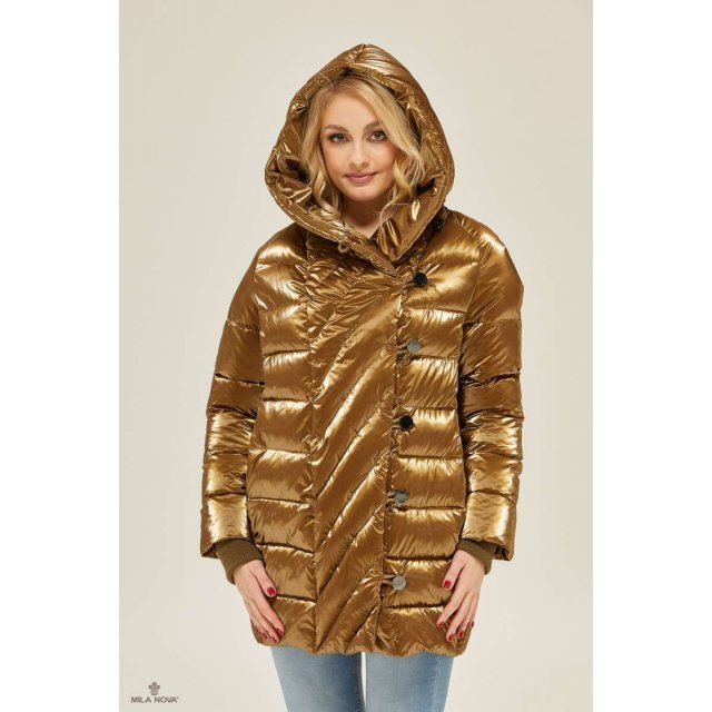 Mila Nova Куртка К-136 Золото