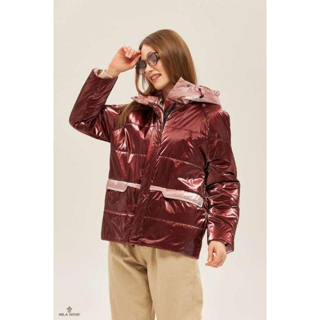 Mila Nova Куртка К-151 Бордо