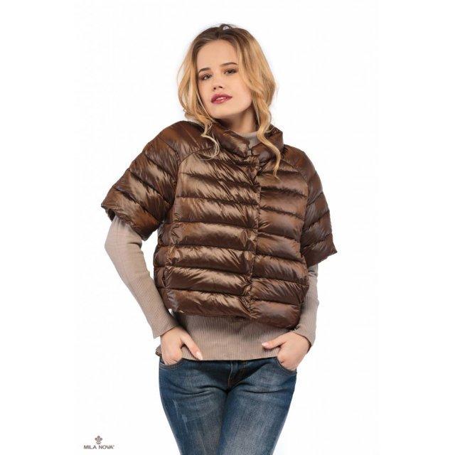 Mila Nova Куртка шоколад КВ-2