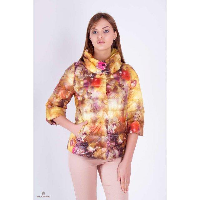 Mila Nova Куртка желтый С-10д