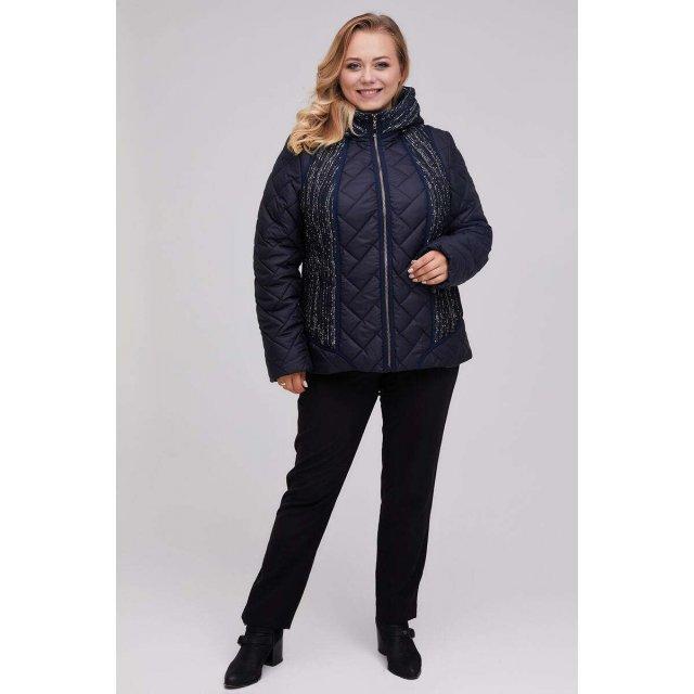 Куртка женская демисезонная синяя (М-981)