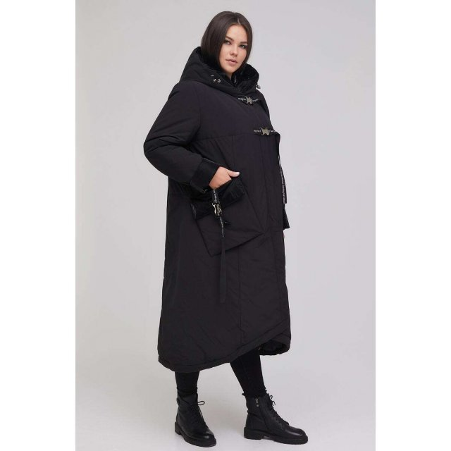 Пальто А-образного силуэта