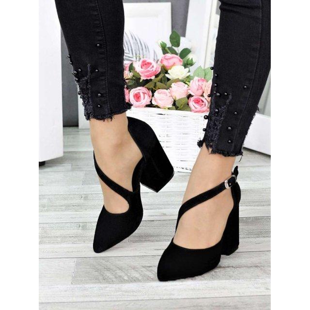 Туфли Marsel черная замша